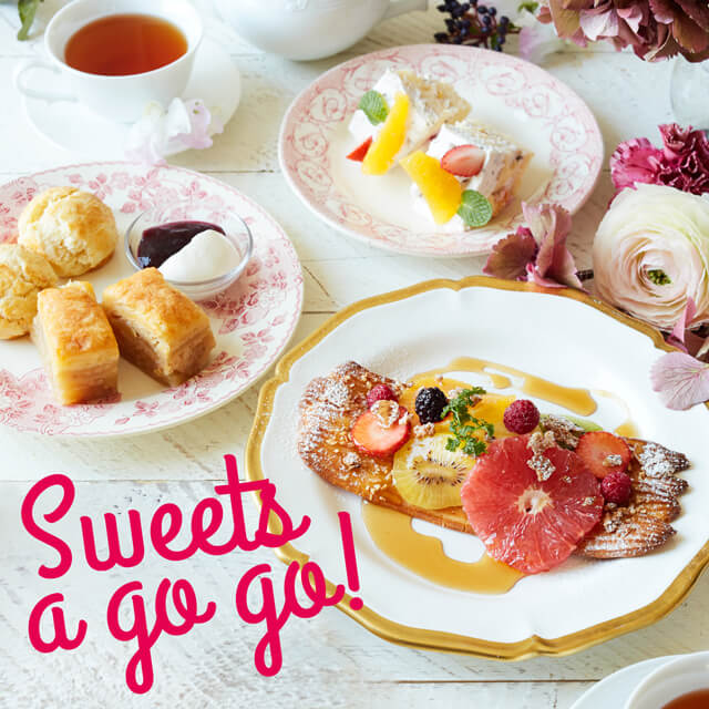 Sweets a go go!