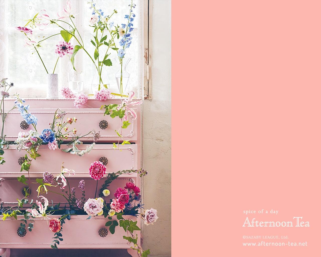 すべての花の画像 ぜいたくスマホ Afternoon Tea 壁紙