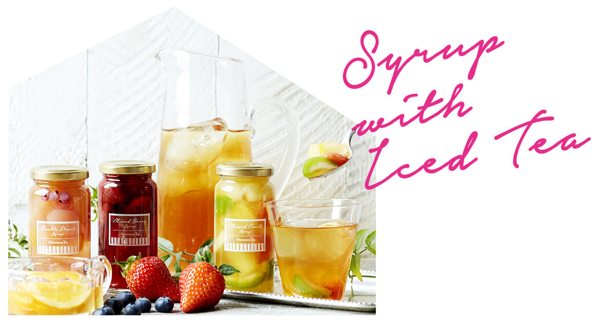 Syrups with Iced Tea